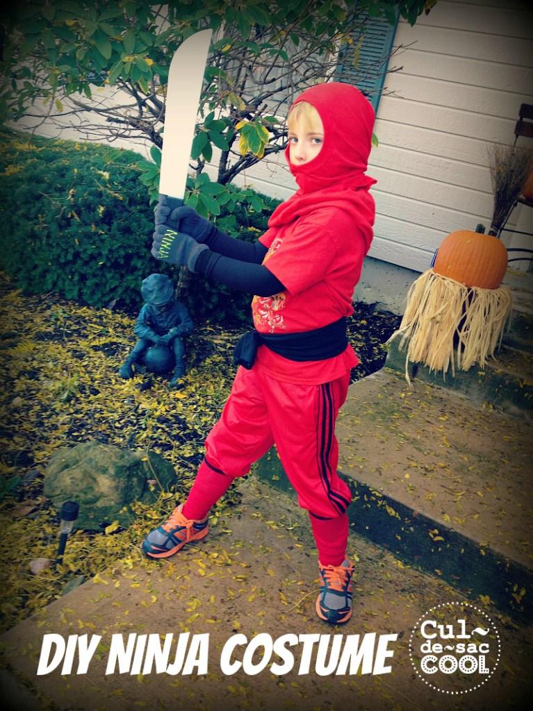 DIY Ninja Costume 1