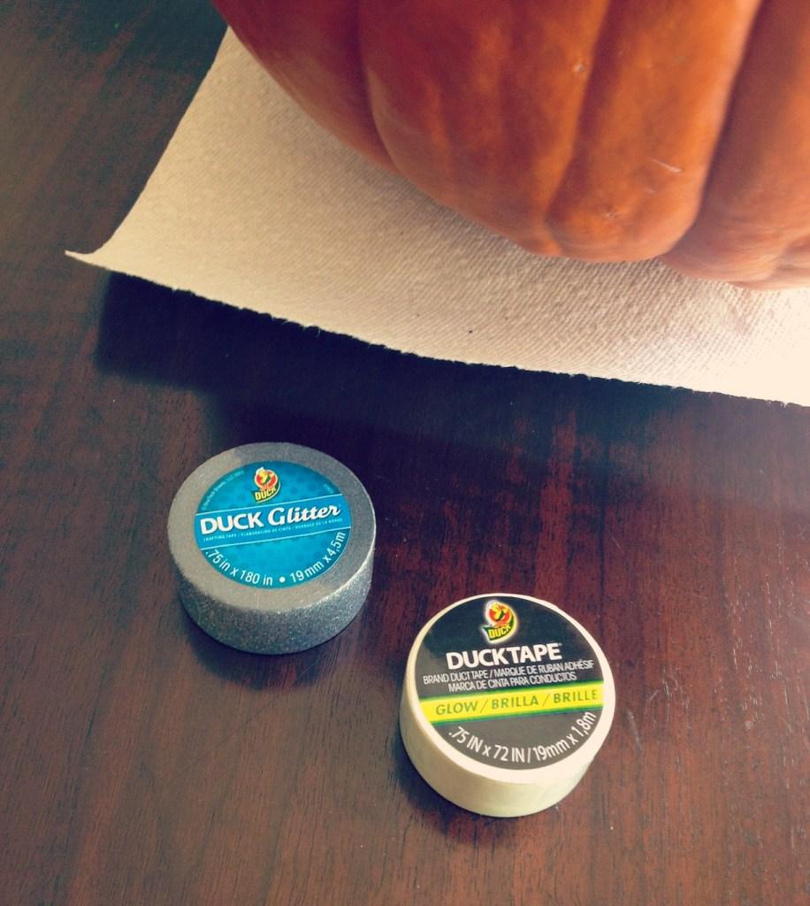 duct tape pumpkin 2