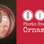 DIY Photo Snowman Ornament