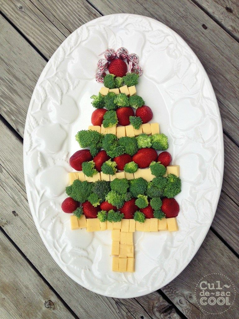Easy Christmas Tree Snack 4