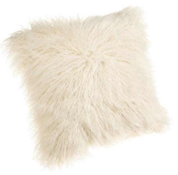 Brentwood Mongolian Faux Fur Pillow
