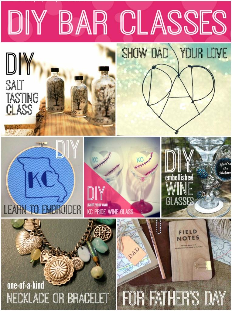 DIY Bar Classes Collage