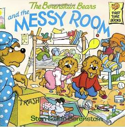 The Berenstain Bears and the Messy Room Children's Book