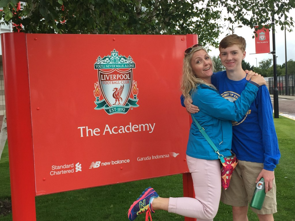 10 Days in England Liverpool FC Academy