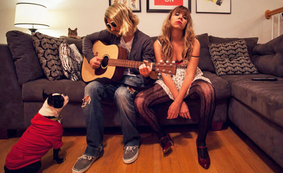 Kurt Cobain and Courtney Love Couples Costume