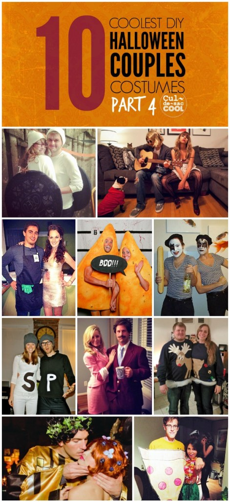 10 Coolest Halloween Couples Costumes Part 4 Collage