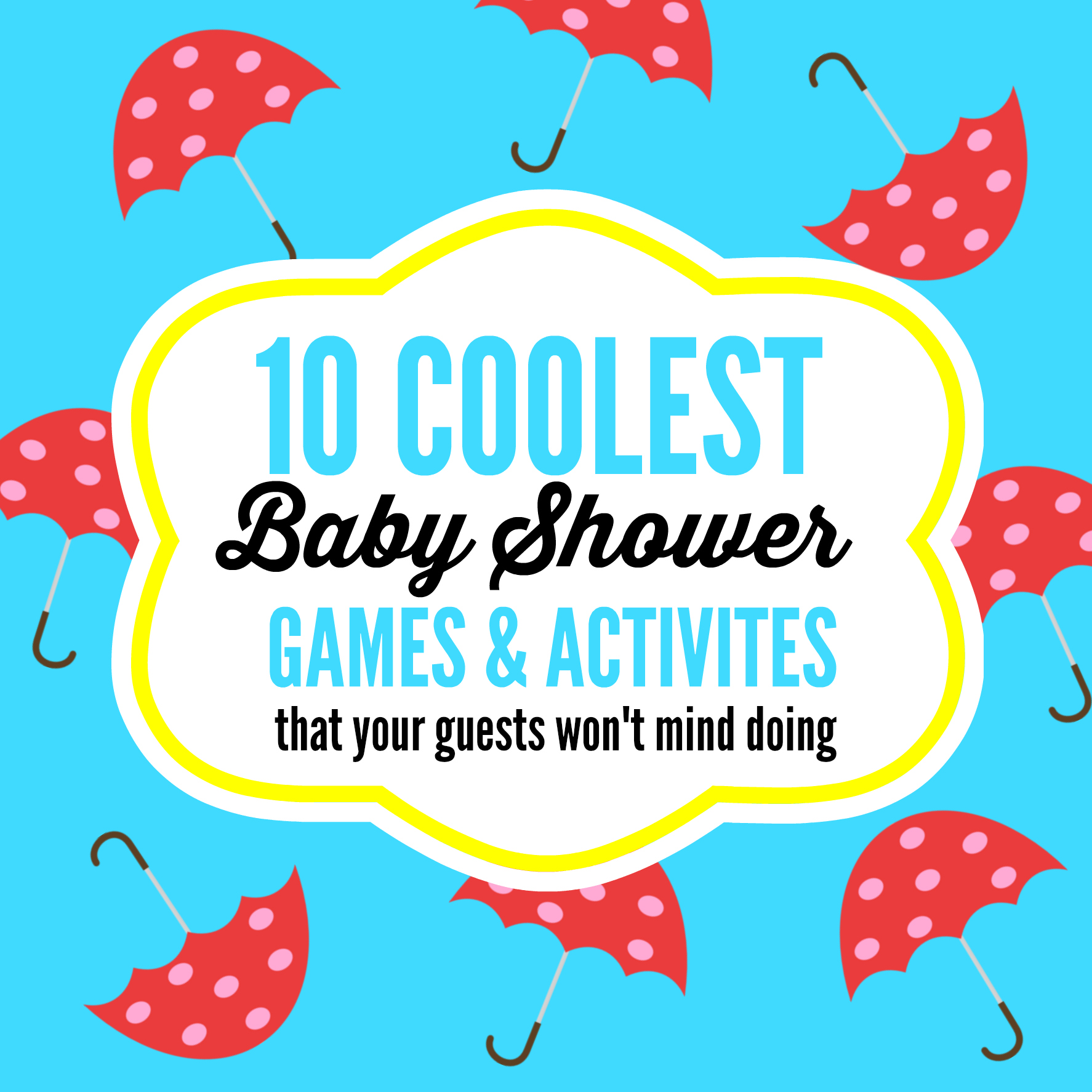 10 Coolest Baby Shower Games U0026 Activities That Your Guests Wonu0027t Mind ...