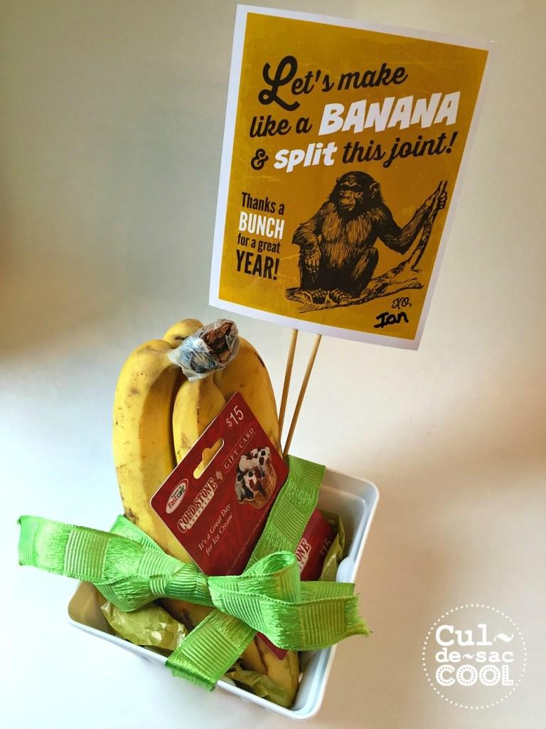 DIY Banana Split Gift 8.2