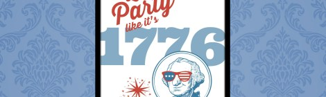 4th of July Printable: Let's Party Like it's 1776!