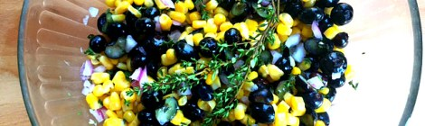 Blueberry Corn Summer Relish
