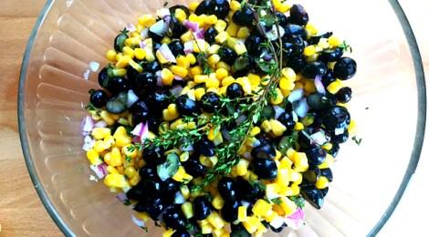 Blueberry Corn Summer Relish