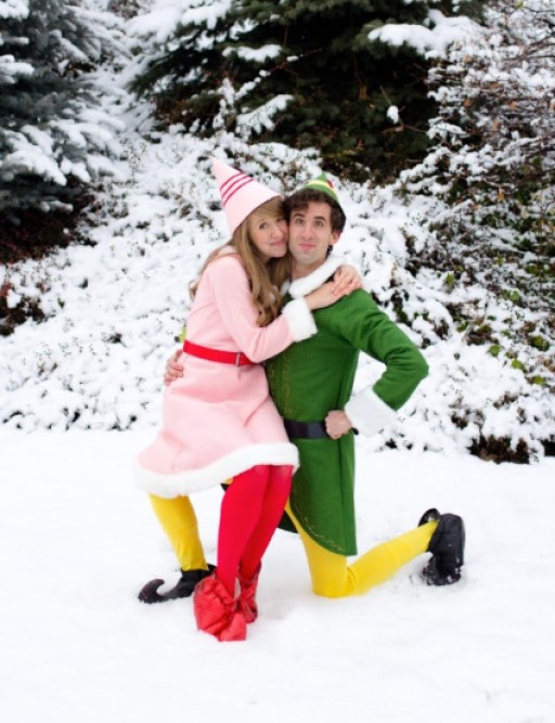 Buddy the Elf and Girlfriend