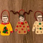 DIY Ugly Sweater Photo Ornament
