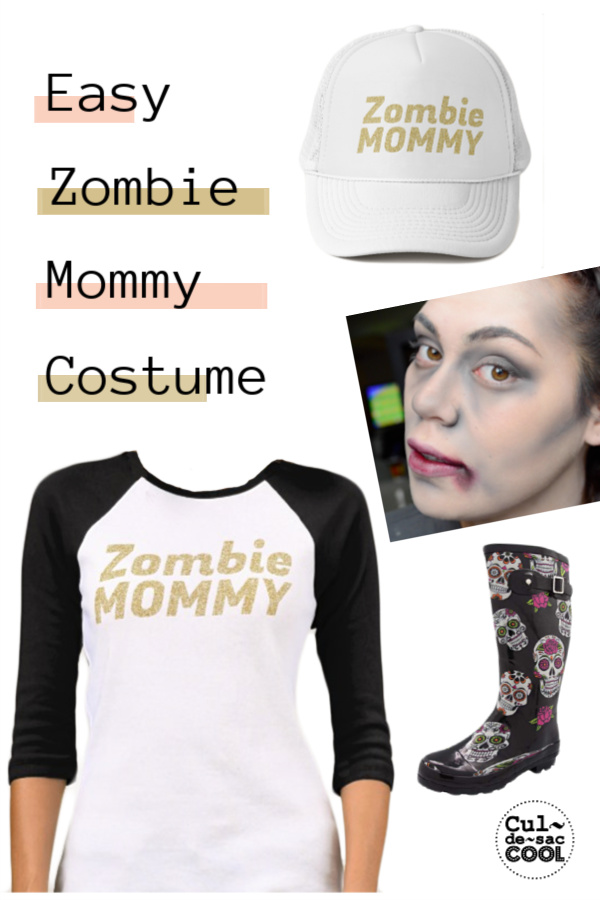 Easy Zombie Mommy Costume