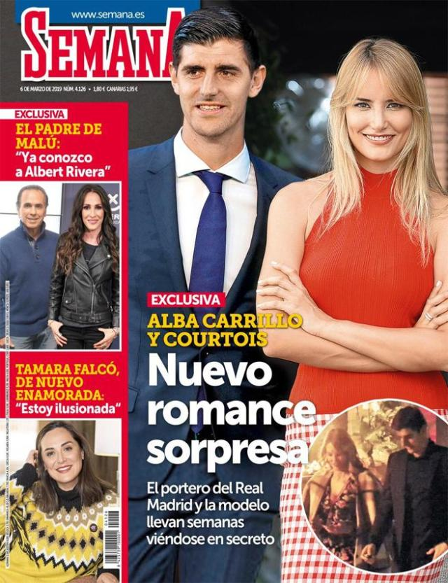 Alba Carrillo y Courtois exclusiva revista SEMANA