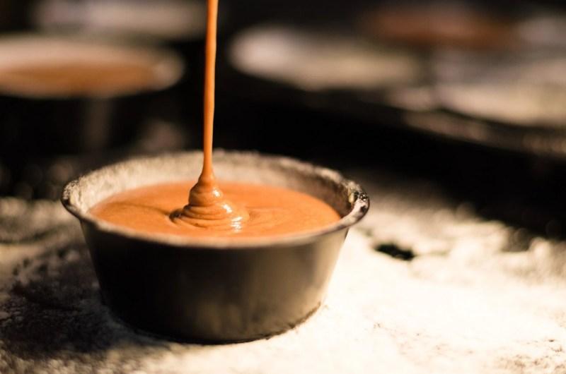 Sinaasappel-honing karamel