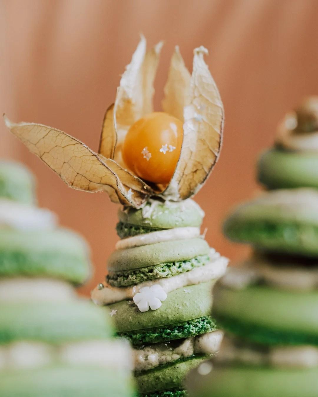 Kerst macarons