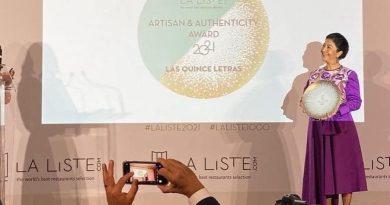 ¡Estamos de fiesta! Celia Florián recibe galardón a la Cocina Auténtica en La Liste 2021