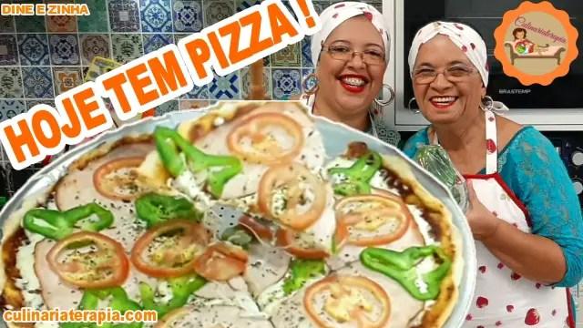 COMO FAZER MASSA DE PIZZA PROFISSIONAL EM CASA FÁCIL E RÁPIDO