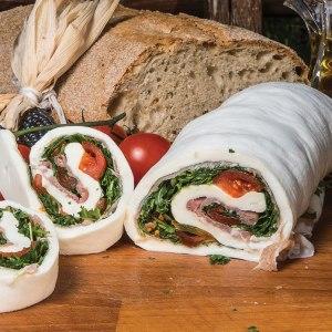 mozzarella roll-over