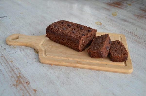 chocolate keto loaf cake