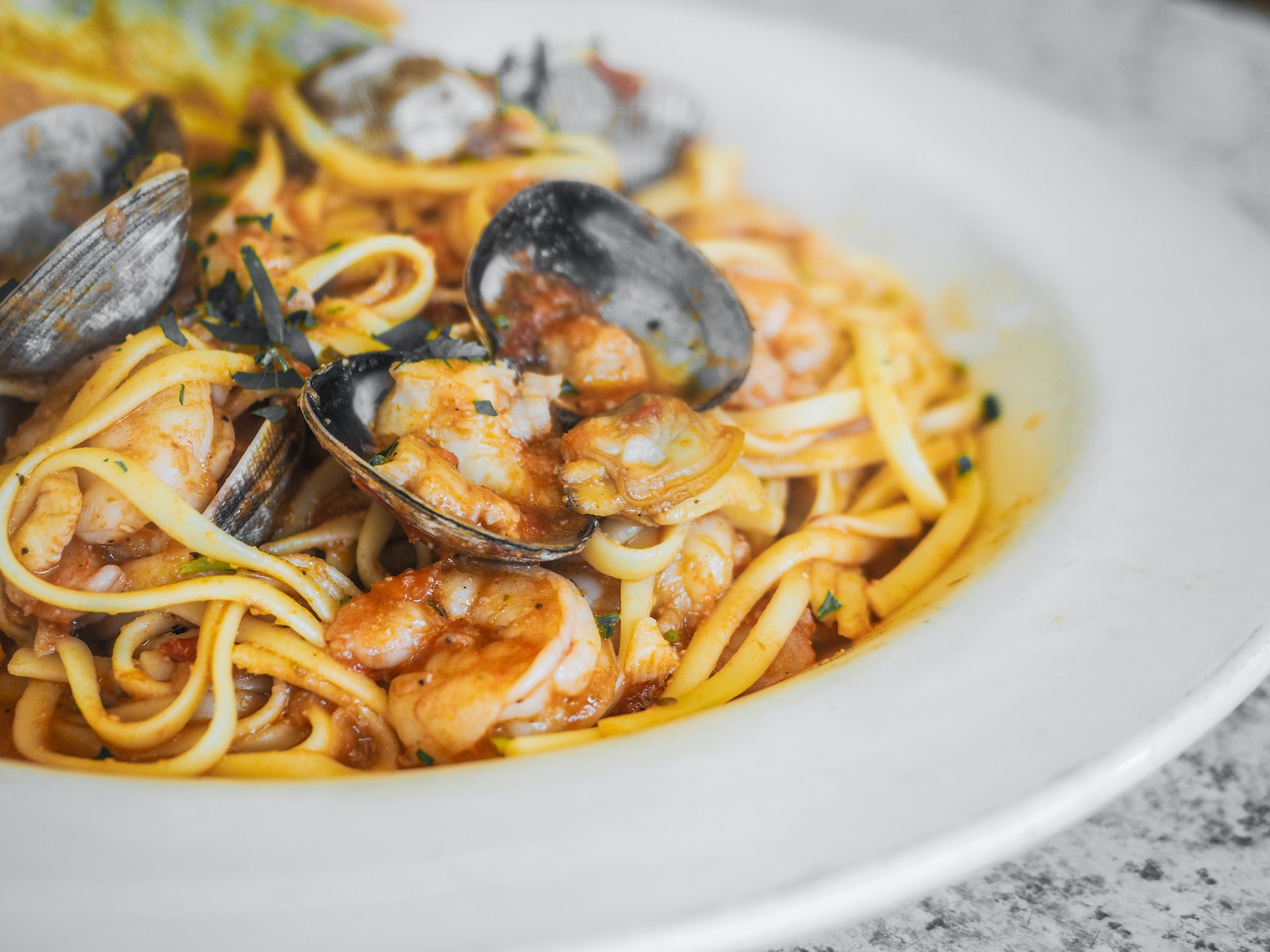 SOLD OUT – Seafood Pasta Night!
