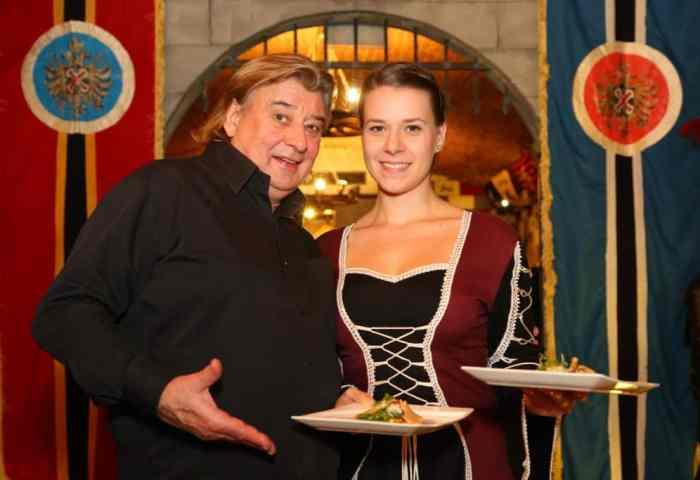 Kulinarischer Gralshüter Reinhard Gerer im Camelot