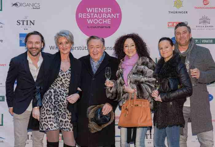 Promis feiern start der 21. Wiener Restaurantwoche