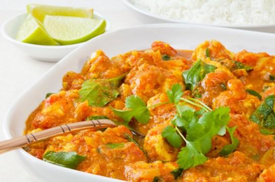 Chicken Sag Curry.