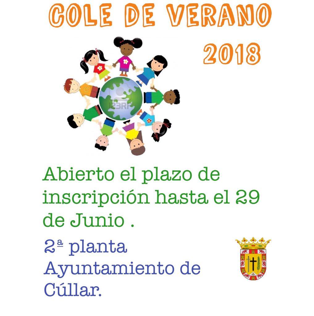 Inscripciones Escuela de Verano 2018