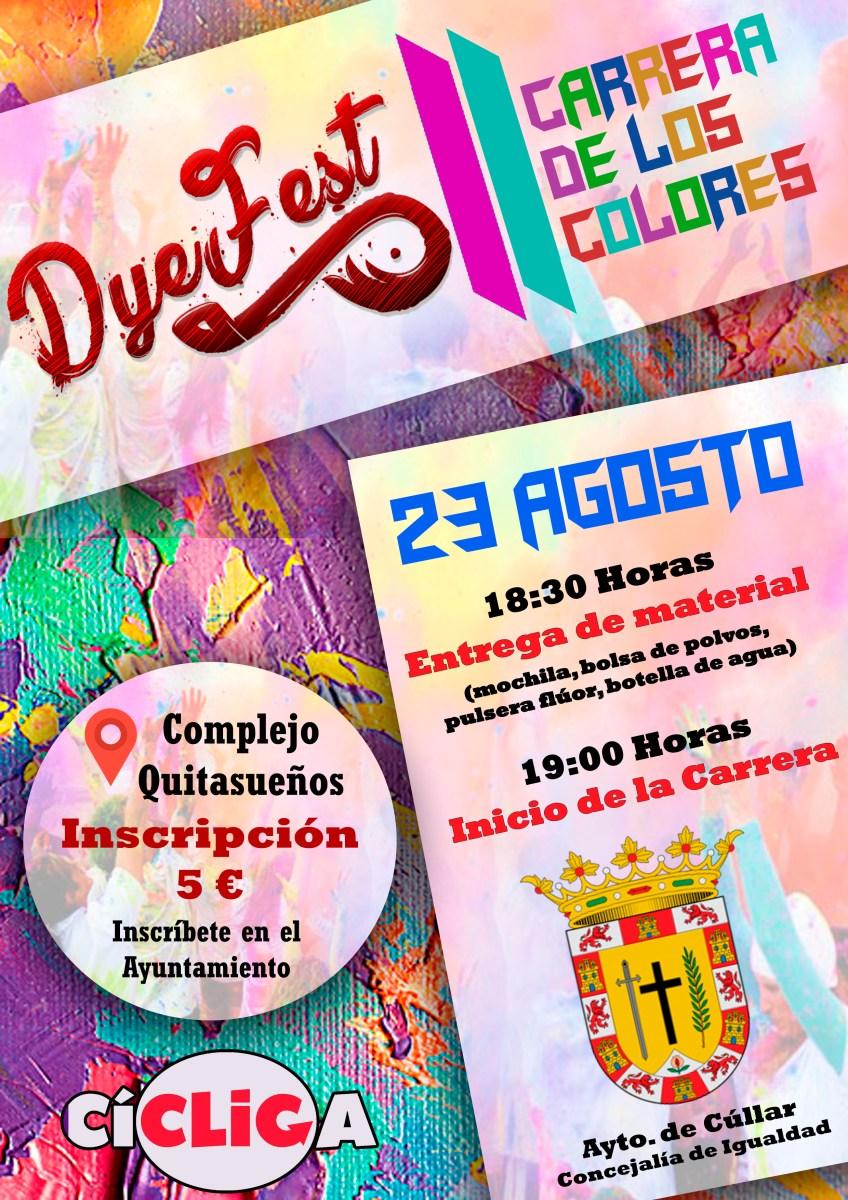 Dye Fest. Carrera de los colores.