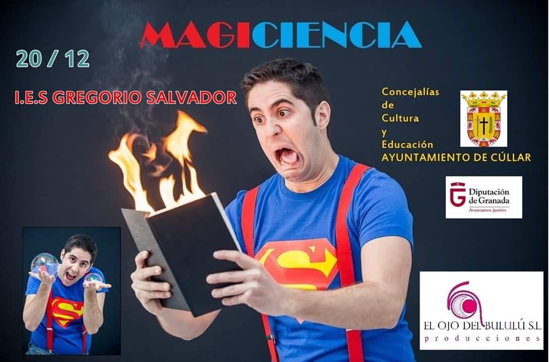 Espectáculo MagiCiencia