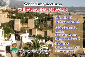 """Senderismo Nocturno: """"Las Murallas del Albaicín"""""""