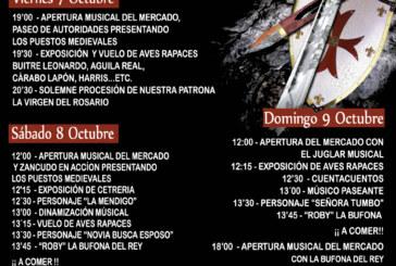 Programa IV Feria Medieval de Cúllar Vega