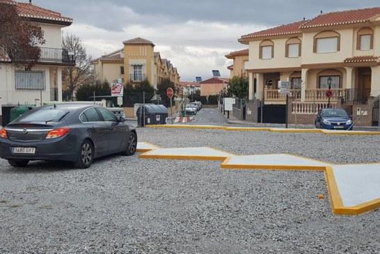 Nueva zona de aparcamiento Escuela de Música