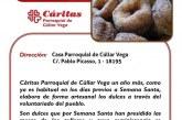 Campaña Roscos y Pestiños de Cáritas Parroquial