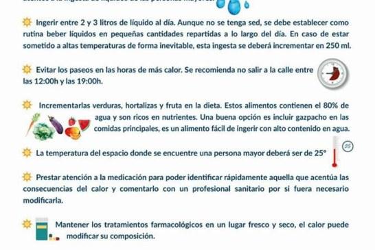 10 Consejos para evitar los efectos del Calor