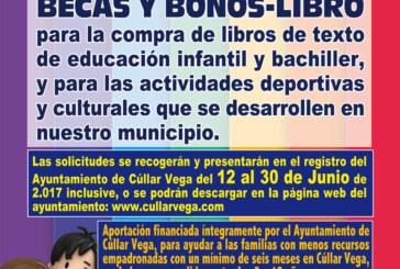 """Programa de Ayudas: """"Siempre una Oportunidad"""" (Bonos Libro y Becas Deportivo-Culturales)"""
