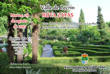 Excursión a la Ruta Zayas en el Valle de Lecrín