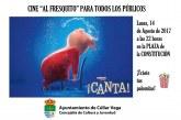 "¡Cine al fresquito! Película ""¡Canta!"""