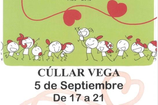 Martes 5 de Septiembre: Donación de Sangre en Cúllar Vega