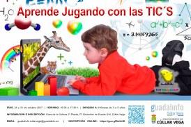 Curso para aprender jugando con las TIC´s para niños/as de 3 a 5 años
