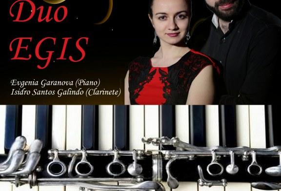 Concierto del Dúo Egis de Piano y Clarinete