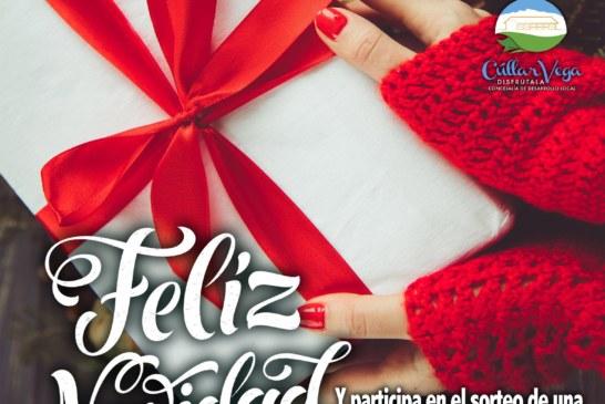 """""""Cúllar Vega sorteará una 'macrocesta' de regalos entre aquellos vecinos que hagan sus compras navideñas en el pueblo"""""""