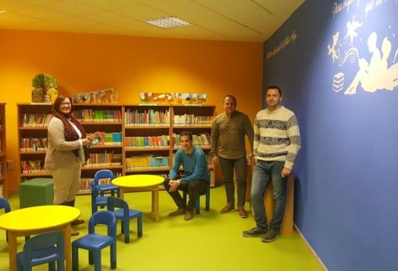 Cúllar Vega amplía su biblioteca municipal con una nueva zona infantil y sala de estudio permanente