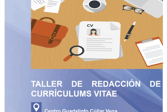 "Taller ""Cómo redactar un Currículum Vitae"""