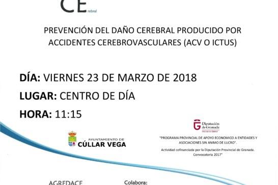 Charla Prevención del daño cerebral producido por accidentes cerebrovasculares (ACV o ICTUS)