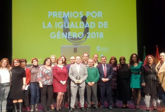 La Diputación premia al Ayuntamiento de Cúllar Vega por sus políticas de igualdad
