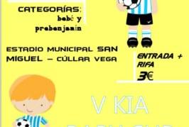 Más de 250 futbolistas de entre 4 y 7 años de toda la provincia participarán este domingo en la V Kia Baby Cup de Cúllar Vega