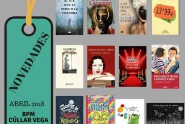 Novedades en la Biblioteca Pública de Cúllar Vega